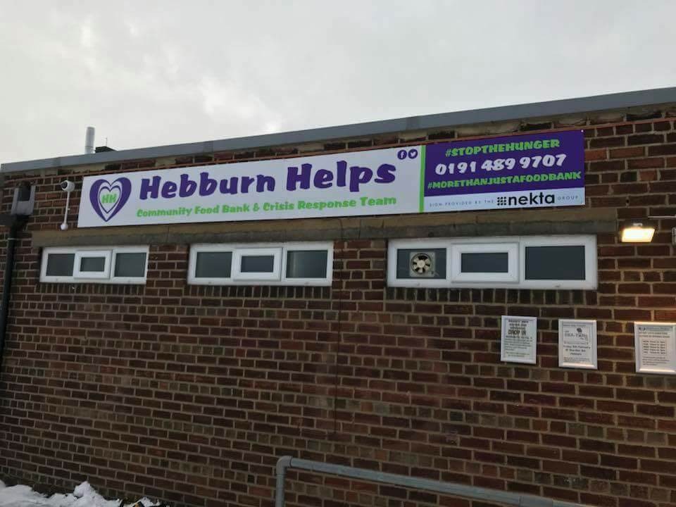 Outside Hebburn Helps