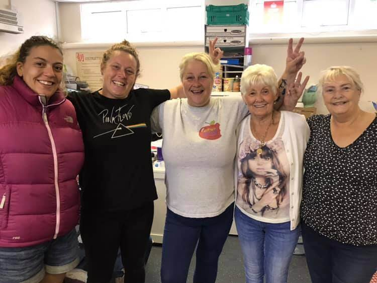 Volunteers at Hebburn Helps Crisis Response